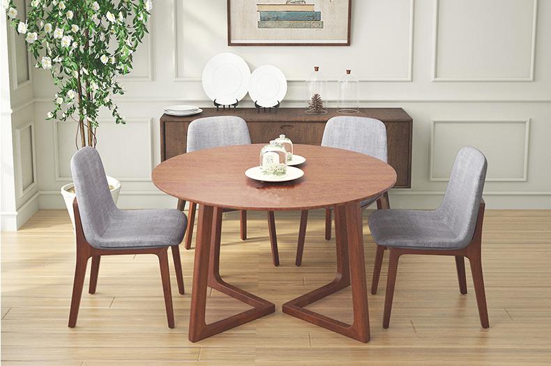 Những mẫu bàn ăn gỗ được yêu thích trên thị trường