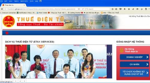 Thuế điện tử eTax – rút ngắn thời gian kê khai và nộp thuế