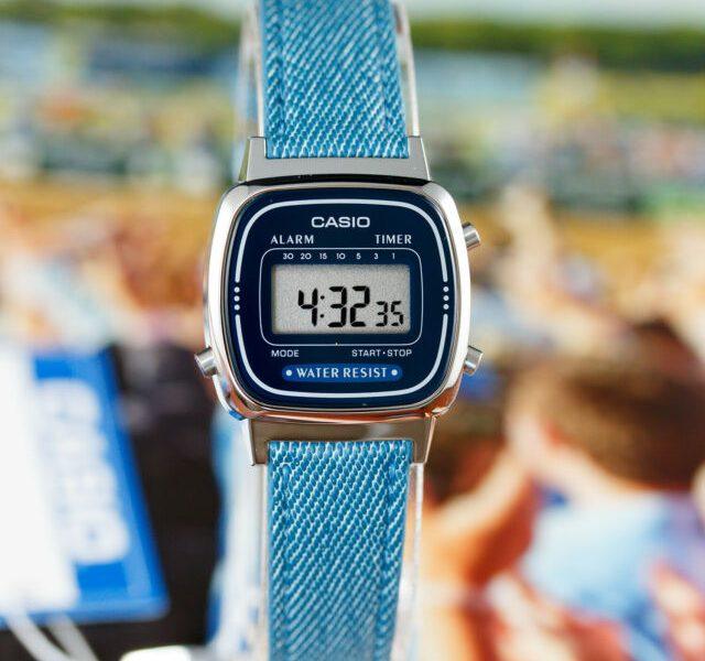 Đồng hồ Casio LA670WL-2A2DF – Nữ – Quartz (Pin) – Dây Da